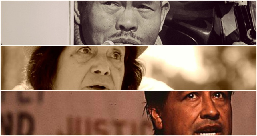 César Chávez, Dolores Huerta, LarryItliong